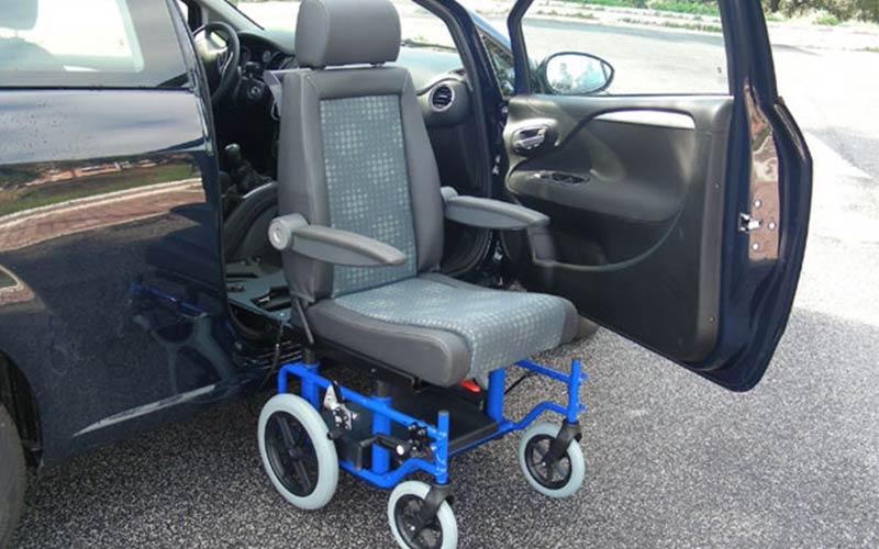 GTRAN وحدة دخول وخروج من السيارة لذوي الاحتياجات الخاصة وكبار السن
